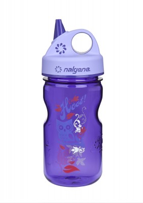 Purple w/Hoot Art - Nalgene Grip-n-Gulp
