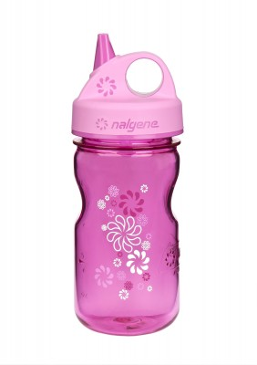 Pink w/Wheels Art - Nalgene Grip-n-Gulp