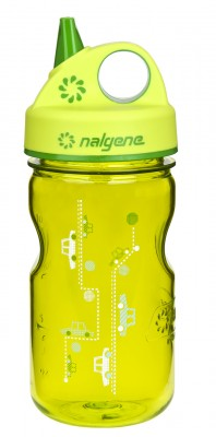 Spring Green w/Cars Art - Nalgene Grip-n-Gulp