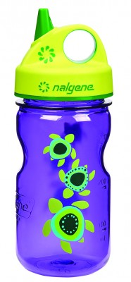 Purple w/Sea Turtles - Nalgene Grip-n-Gulp