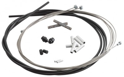 BLACK - RavX BRAKE CABLE AND HOUSING KIT