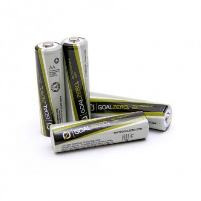 Goal Zero Rechargeable AA Batteries (4 Pack)