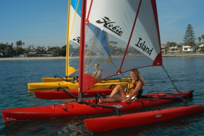 HIBISCUS - Hobie Cat Mirage Adventure Island