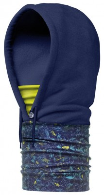 DESSANETCH LIME/NAVY - Buff® Hoodie Polar Buff®