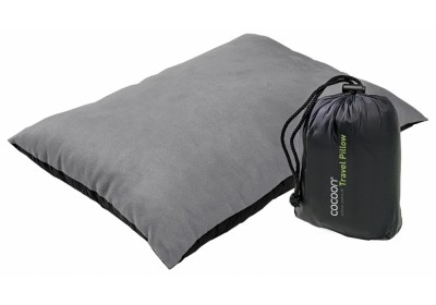 Charcoal/Smoke Grey - Cocoon Travel Pillow Microfiber