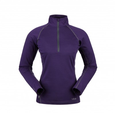 Rab MeCo 165 LS Zip Mujer