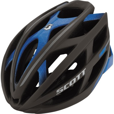 gry mat/blue - Scott Helmet  Wit-R
