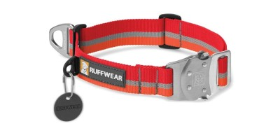 Kokanee Red - Ruffwear Top Rope™ Collar