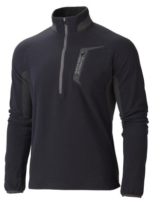 BLACK/DARK GRANITE - Marmot Alpinist 1/2 Zip