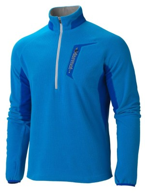 COBALT BLUE/BRIGHT NAVY - Marmot Alpinist 1/2 Zip