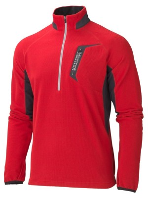 TEAM RED/BRICK - Marmot Alpinist 1/2 Zip