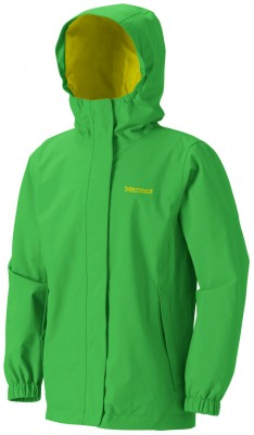 BRIGHT GRASS - Marmot Girls Storm Shield Jacket