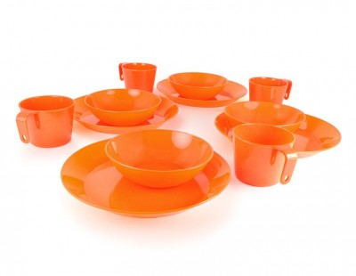ORANGE - GSI Cascadian 4 Person Table Set
