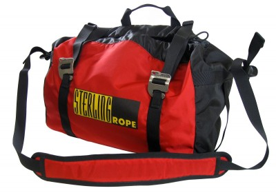 Sterling Rope Bag Red Whit Tarp