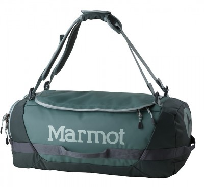 Dark Mineral/Dark Zinc - Marmot Long Hauler Duffle Bag Medium