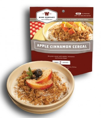 Wise Company Apple Cinnamon Cereal (2 Porciones)