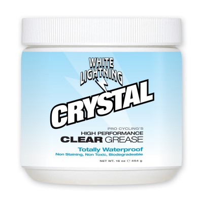 1 lb. - White Lightning Crystal Clear Grease