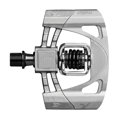 Raw / Silver - Crankbrothers Mallet 2