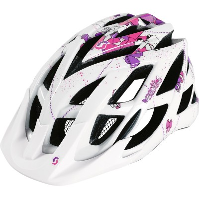White/Purple - Scott Helmet  Spunto (CE)