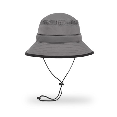 Charcoal/Black - Sunday Afternoons Solar Bucket Hat