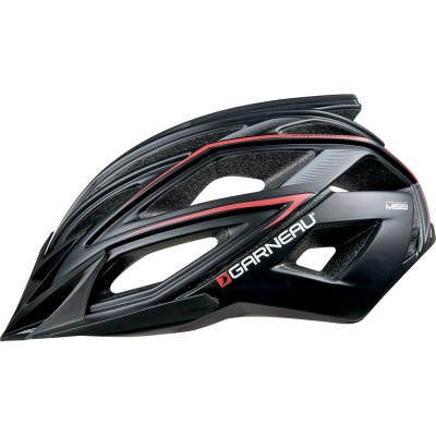 BLACK/red - Garneau Edge Helmet