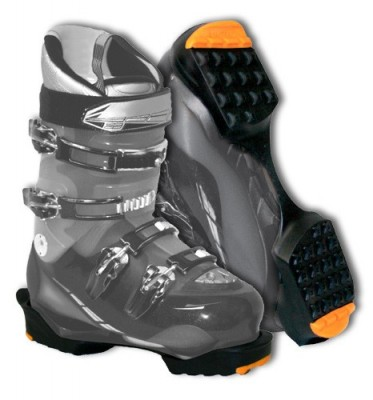 BLACK/ORANGE - Yaktrax Ski