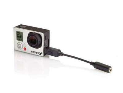 - GoPro 3.5mm Mic Adaptor