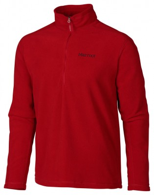 Dark Crimson - Marmot Rocklin 1/2 Zip