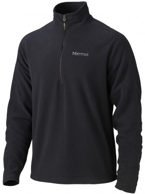 Black - Marmot Rocklin 1/2 Zip
