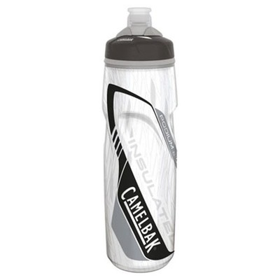 CLEAR CARBON - CamelBak Podium Big Chill Bottle 25 oz