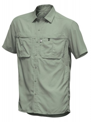 OIL GREEN - Tatoo Camisa Puyehue MC Hombre