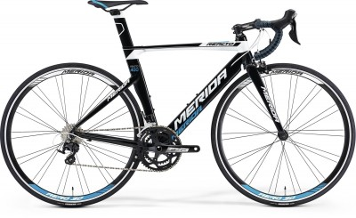 BLACK/WHITE(PROCESS BLUE) - Merida Bikes Reacto 400 - 2015