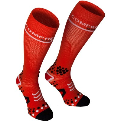 Red - Compressport Fullsocks V2