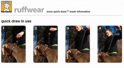 - Ruffwear Quick Draw™ Leash