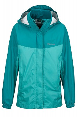 Teal Tide/Malachite - Marmot Girl´s PreCip Jacket