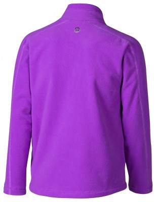 Purple Shadow Back - Marmot Girl´s Rocklin 1/2 Zip