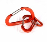 Lifeventure Karabiners (Pack of 3)