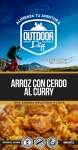 Daff Arroz con Cerdo al Curry Outdoor 200 grs