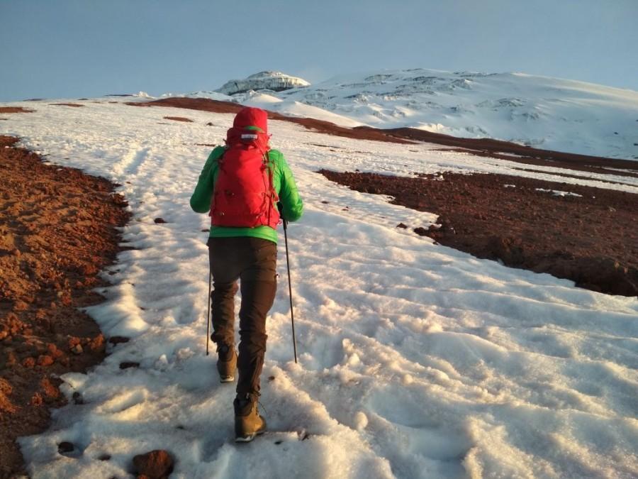 me dijeron que la bota sirve para alta montaña pero si tuve algo de  problemas con el frio en los dedos 145e03e0060