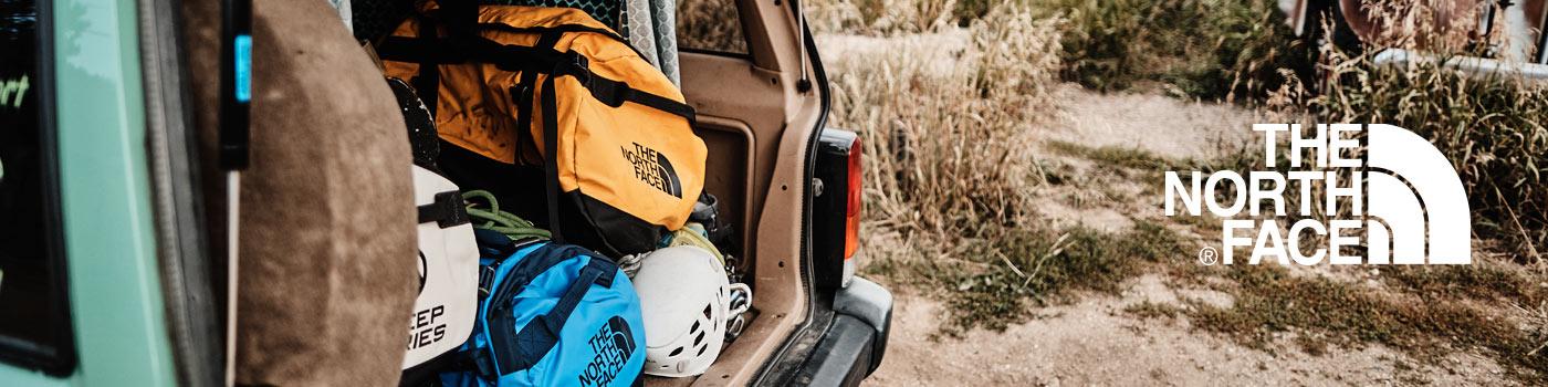 The North Face: Marca norte americana de equipo para trekking y montañismo como sacos de dormir, carpas y calzado.