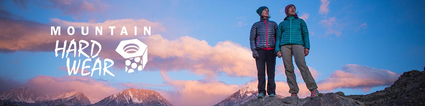 Mountain Hardwear ofrece alto rendimiento en ropa técnica de hombre y mujer, carpas, bolsas de dormir, mochilas, equipamiento, y accesorios para actividades outdoor.