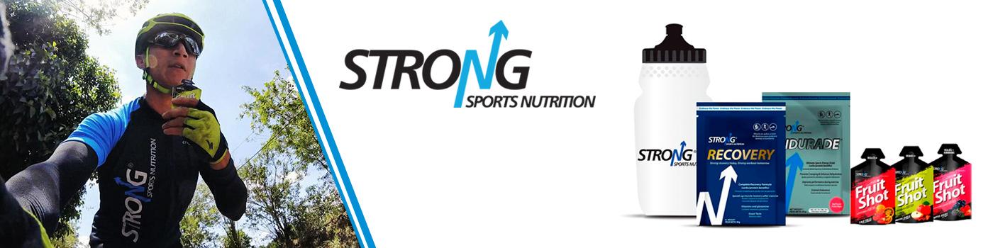 Strong ofrece una gran variedad de suplementos nutricionales y alimentos para  el deportista que busca el alto rendimiento.