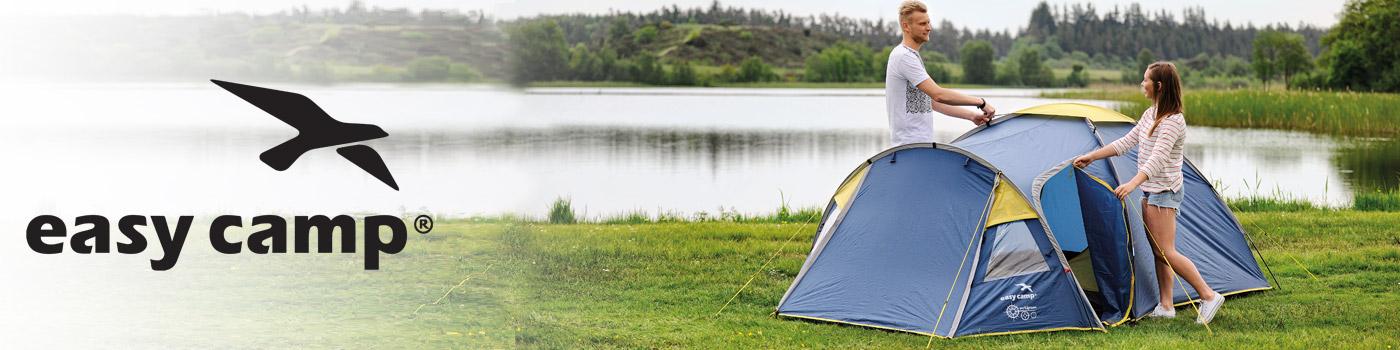 Easy Camp: Marca finlandesa de productos para camping familiar como carpas, aislantes, sacos de dormir y accesorios.