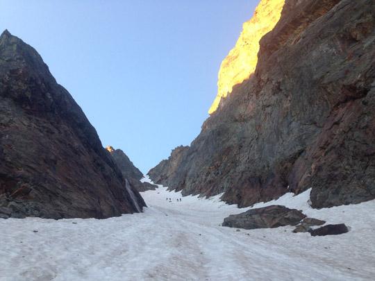 Montañismo y esclada en Argentera