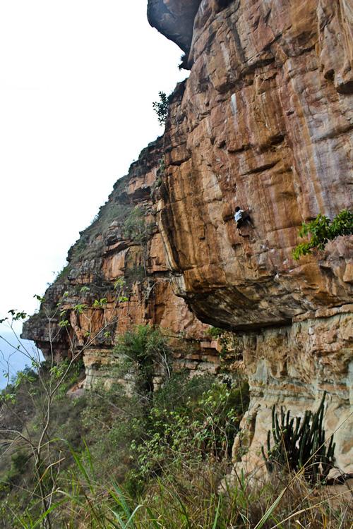 La Ruta El español es una de las más famosas en Colombia, se encuantra en La Mojarra, Mesa de los santos. Foto - Lise Hermann