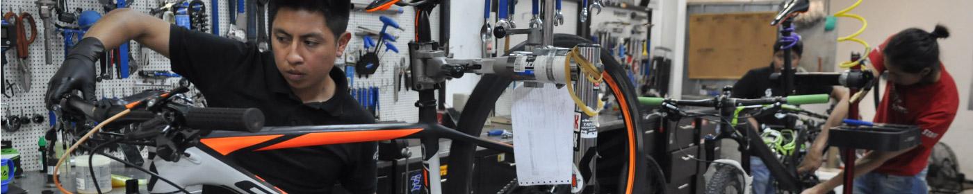 Banner Servicios Generales para Bicicletas