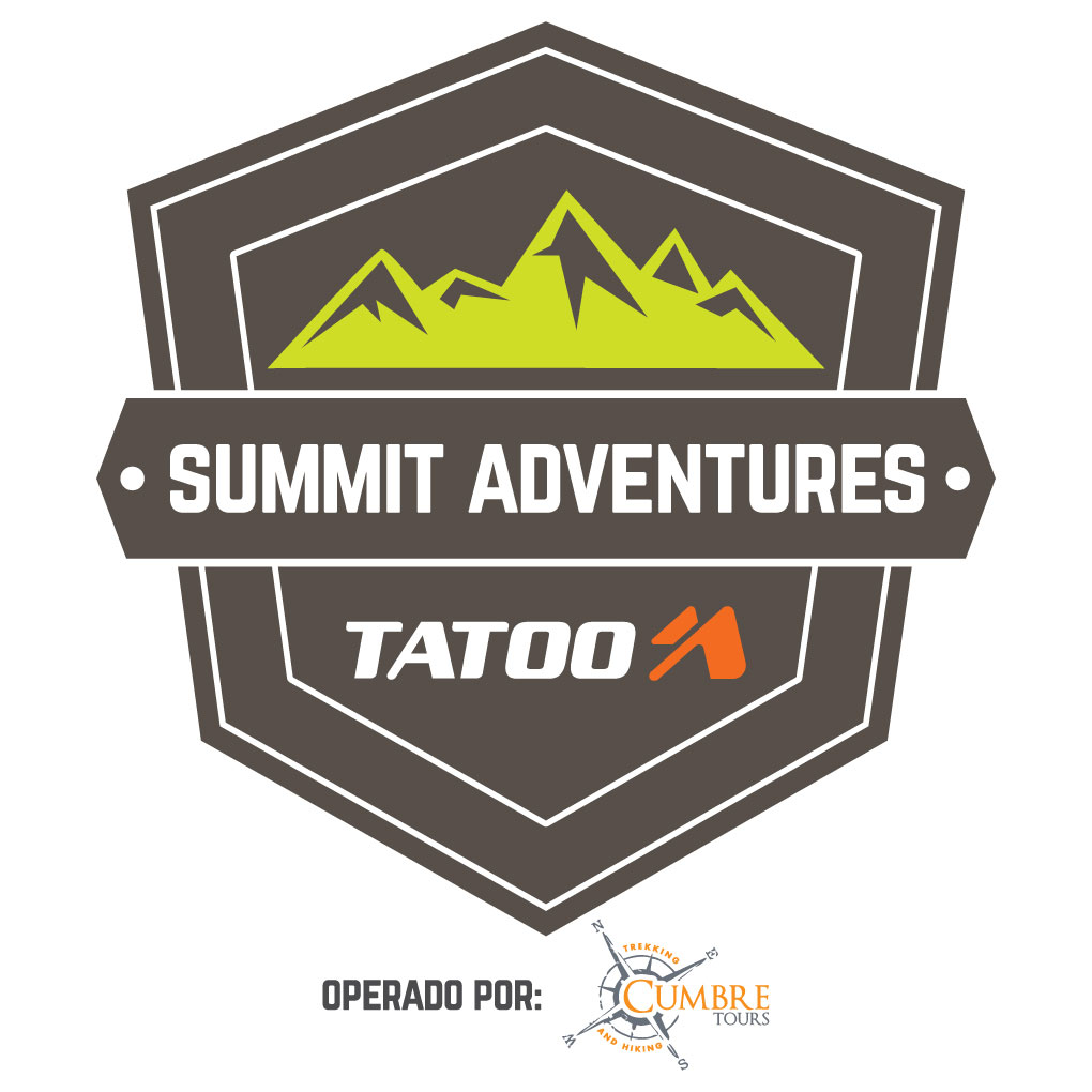 Logo Tatoo Adventure Gear Summit Adventures