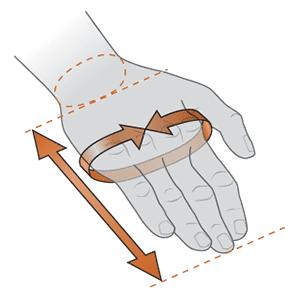 Como medir una mano para comprar guantes.