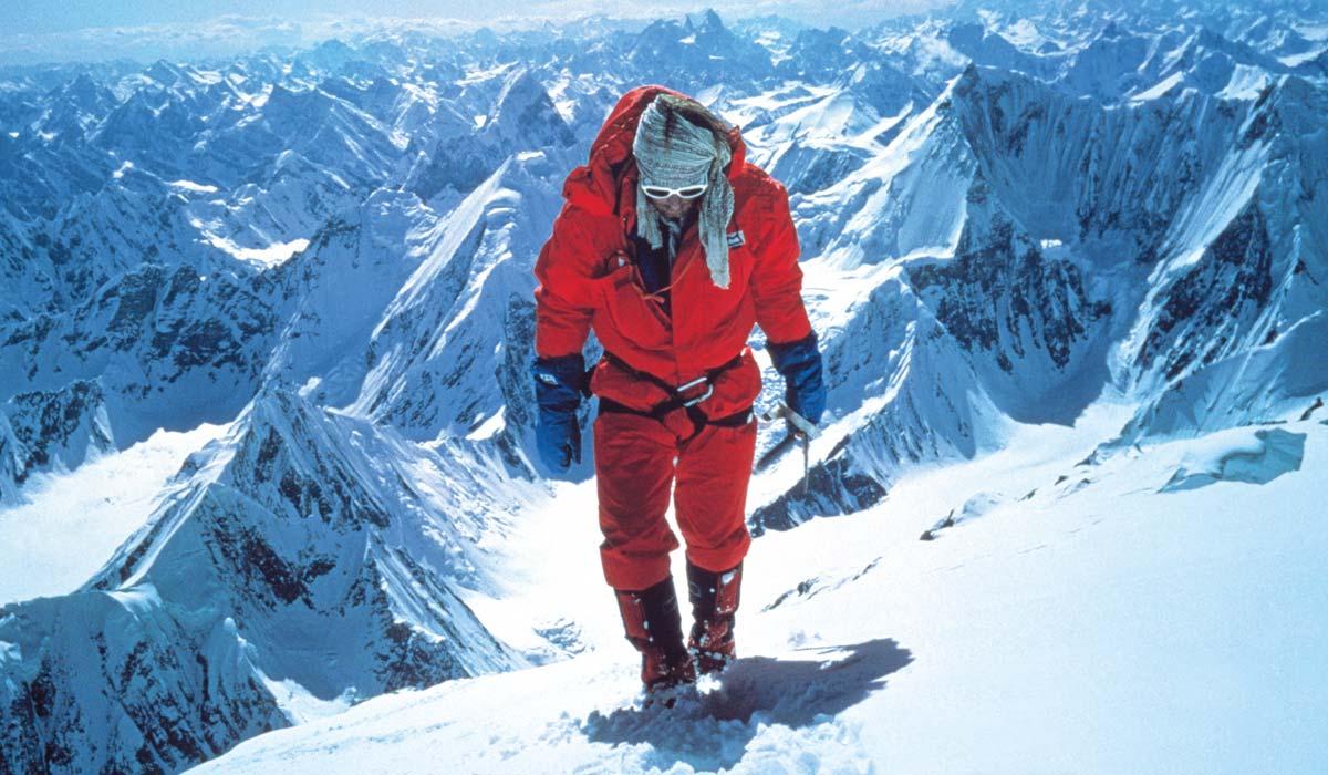 Montañista Andy Parkin