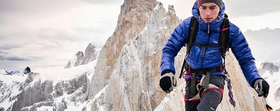 Ropa para montañismo